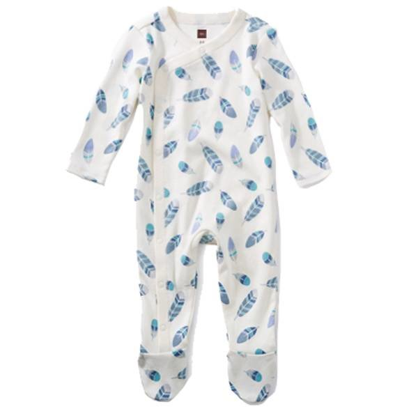 Tea Collection Tea Collection Footed Romper