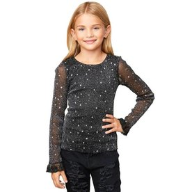 Hayden Hayden Mesh Star Top