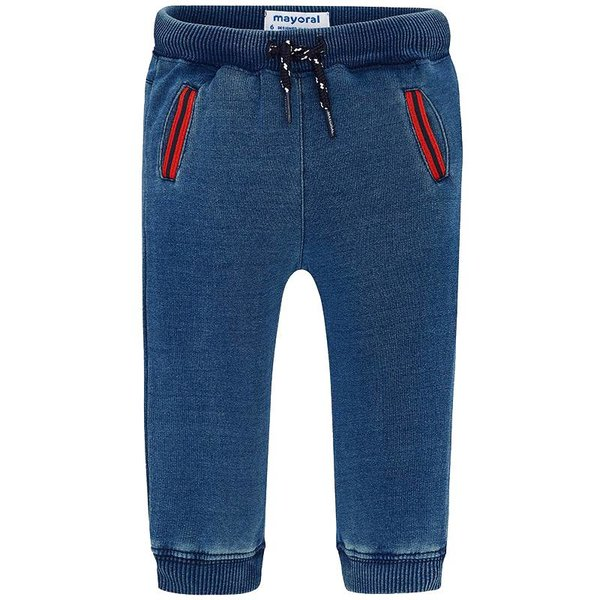 Mayoral Mayoral Denim Plush Pants