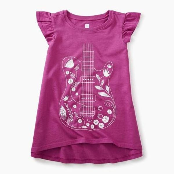 Tea Collection Tea Collection Floral Guitar Twirl Top
