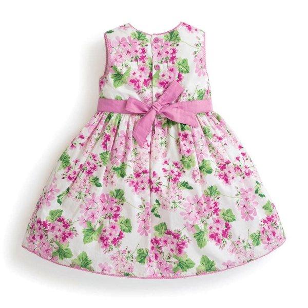 JoJo Maman Girls Floral Party Dress