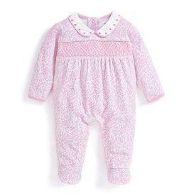 Pretty Smocked Sleepsuit