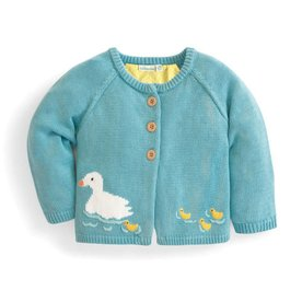 Duck Egg Cardigan