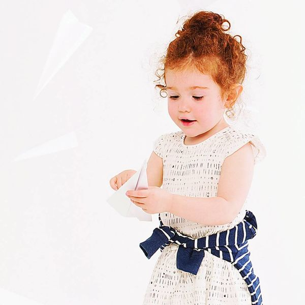 Miles Baby Miles Baby | White Knit Dress