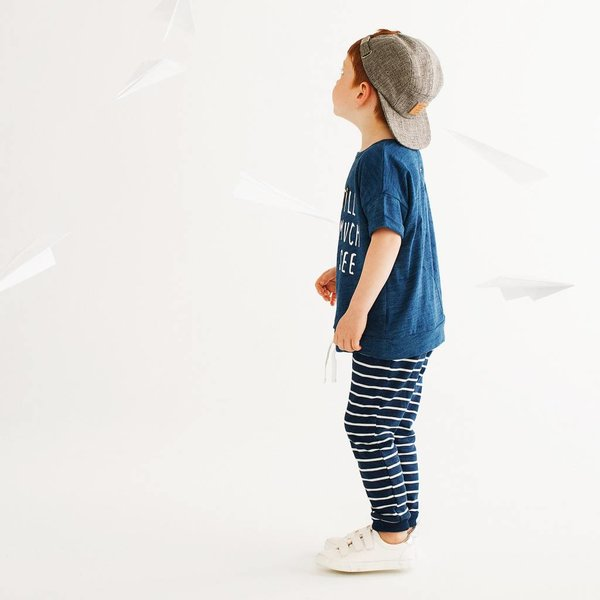 Miles Baby Miles Baby | Striped Jogger
