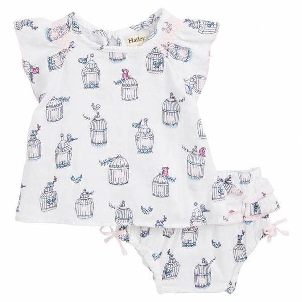 Hatley Hatley Baby Smocked Bloomer Set