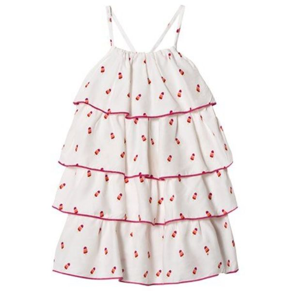 Hatley Hatley Girls White Layered Dress