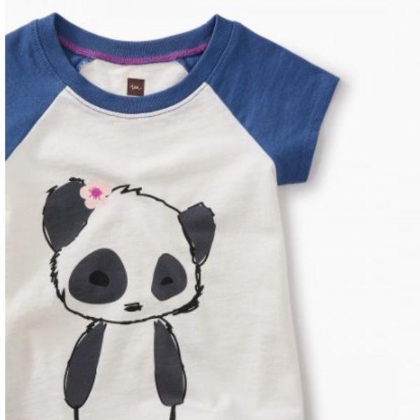 Tea Collection Tea Collection - Little Panda Graphic Baby