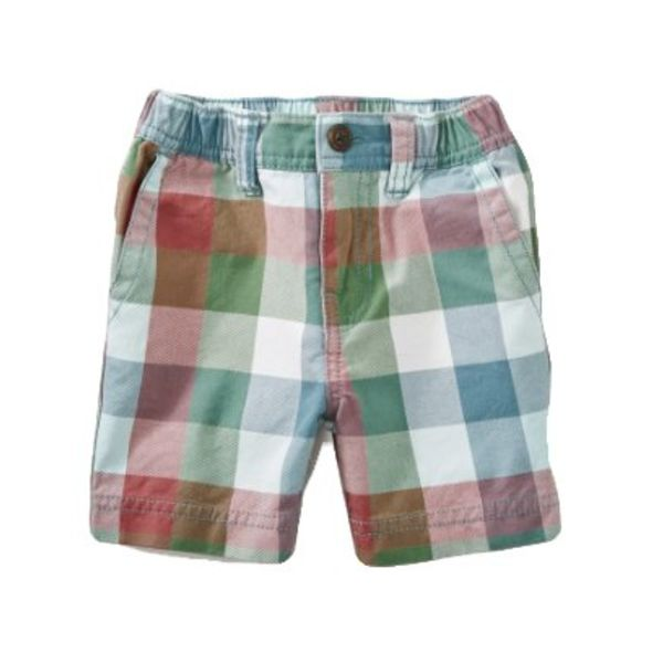 Tea Collection Tea Collection Twill Travel Baby Shorts