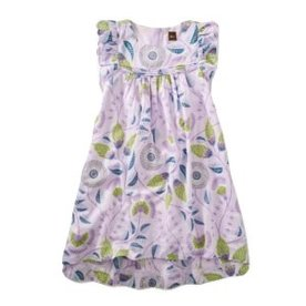 Tea Collection Tea Floral Hi-Lo Dress