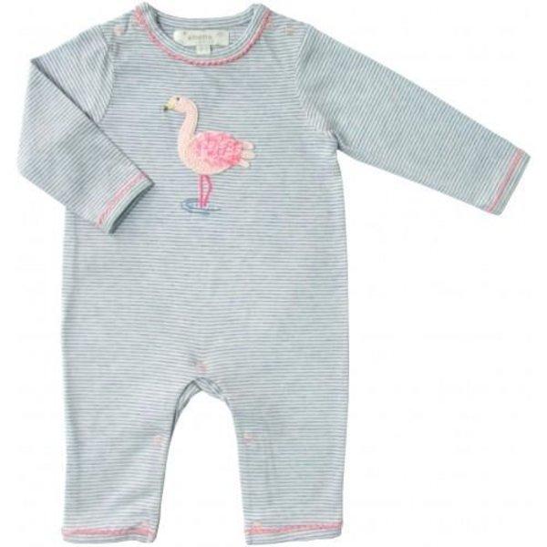 Albetta Flamingo Baby Onesie