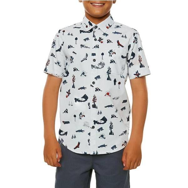 O'Neill O'Neill Boys Squawker Short Sleeve Shirt