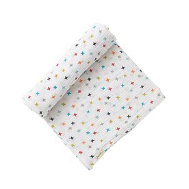 Pehr Designs Pehr Rainbow Jacks Swaddle