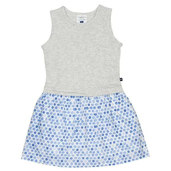 Toobydoo Toobydoo Girls Jersey Woven Dress