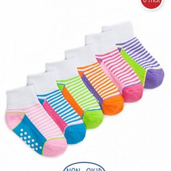 Jefferies Socks Girl Sporty Cushion 6pk
