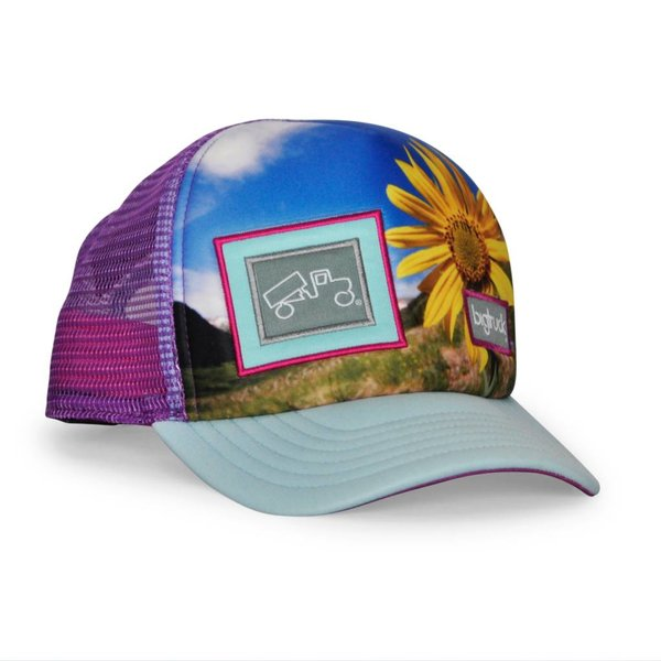 Big Truck Toddler Sublimated Hat - Yellow Turtle b741041ea5b5
