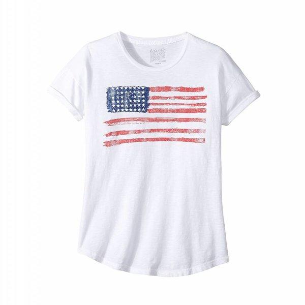Original Retro Brand Original Retro Girls American Flag Crew