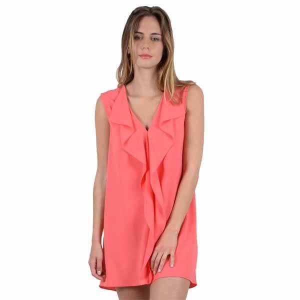 acf041838268 Molly Bracken Cowl Neck Back Dress - Yellow Turtle