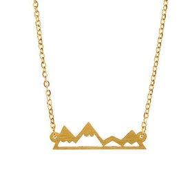 Mountain Range Necklace