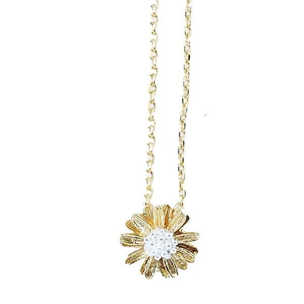 Rebecca Flower Necklace