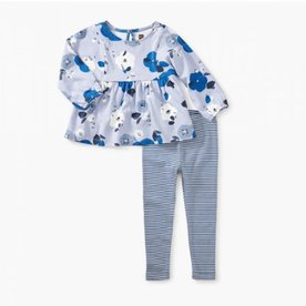 Tea Collection Tea Pieced Top Baby Set