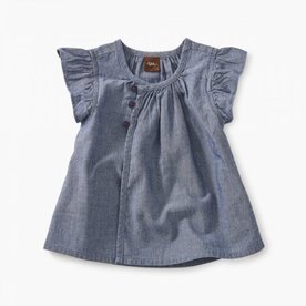 Tea Collection Tea Chambray Baby Tunic