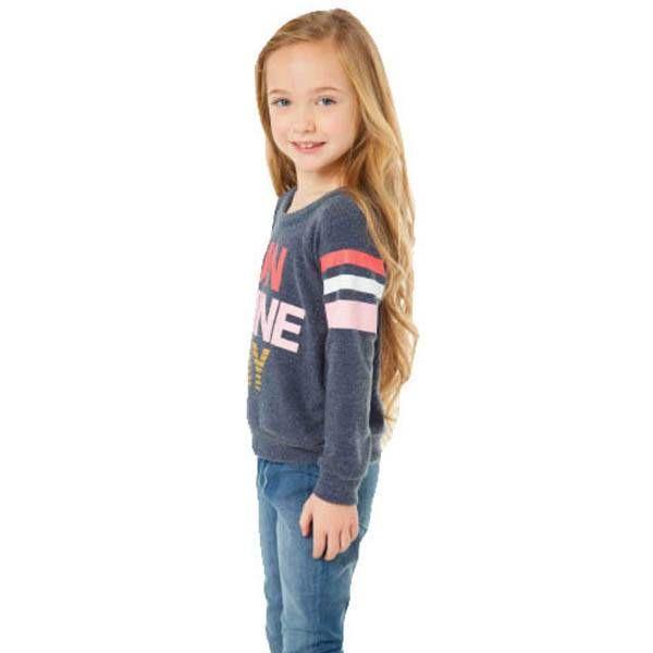 Chaser Kids Chaser Kids Girl Love Raglan Pullover