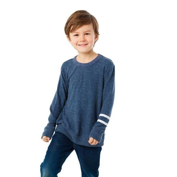 Chaser Kids Chaser Kids Boys Love Knit Crew Pullover