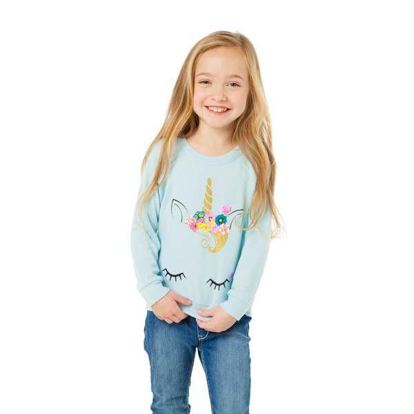 Chaser Kids Chaser Kids Girls Love Raglan Pullover