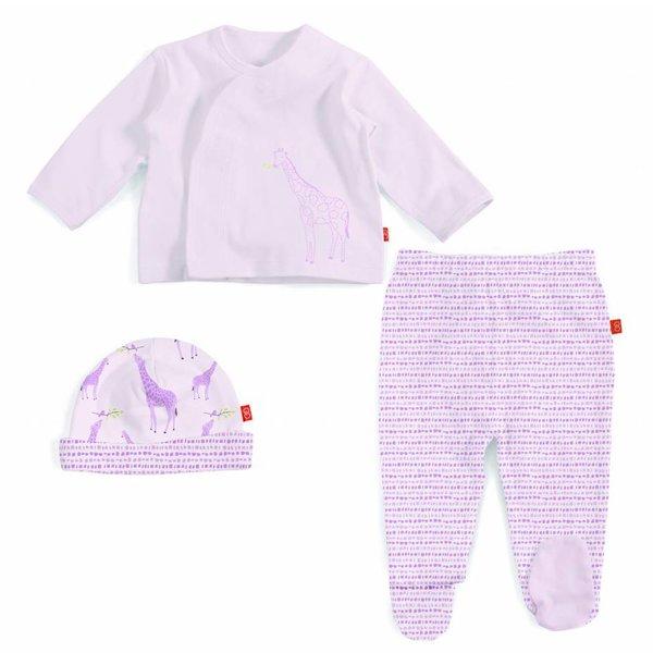 Magnificent Baby Magnificent Baby Magnetic 3PC Kimono Set