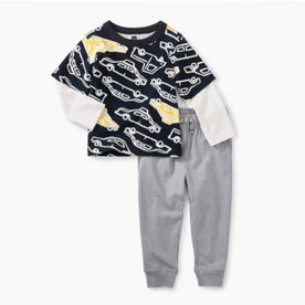 Tea Collection Tea Baby Boy Set