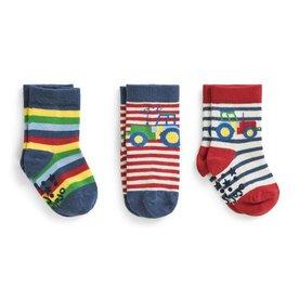 JoJo Maman 3pk Socks