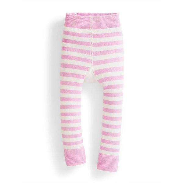 JoJo Maman Bebe Stripe Baby Leggings