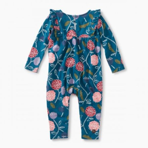 Tea Collection Tea Collection Baby Ruffle Smocked Romper