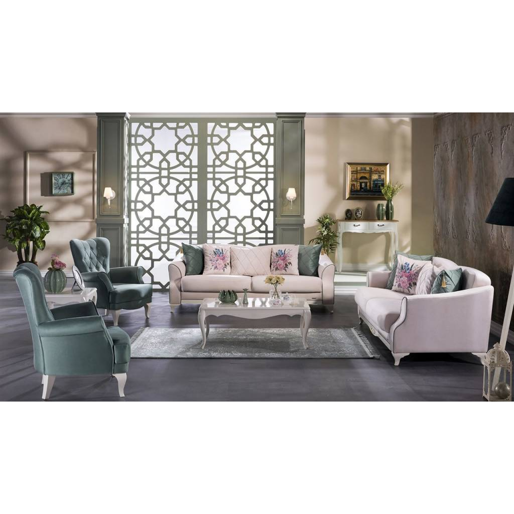 Valdes Yesil 4 Piece Living Room Set (3 3 B B) ... Part 54