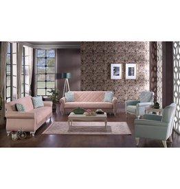 Pamira Somon 4 Piece Living Room Set (3 3 B B)