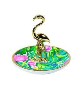 LIFEGUARD PRESS INC. 170204 RING HOLDER PAINTED PALM