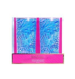 LIFEGUARD PRESS INC. 171610 ACRYLIC HI-BALL GLASS SET BLUE TANG GANG