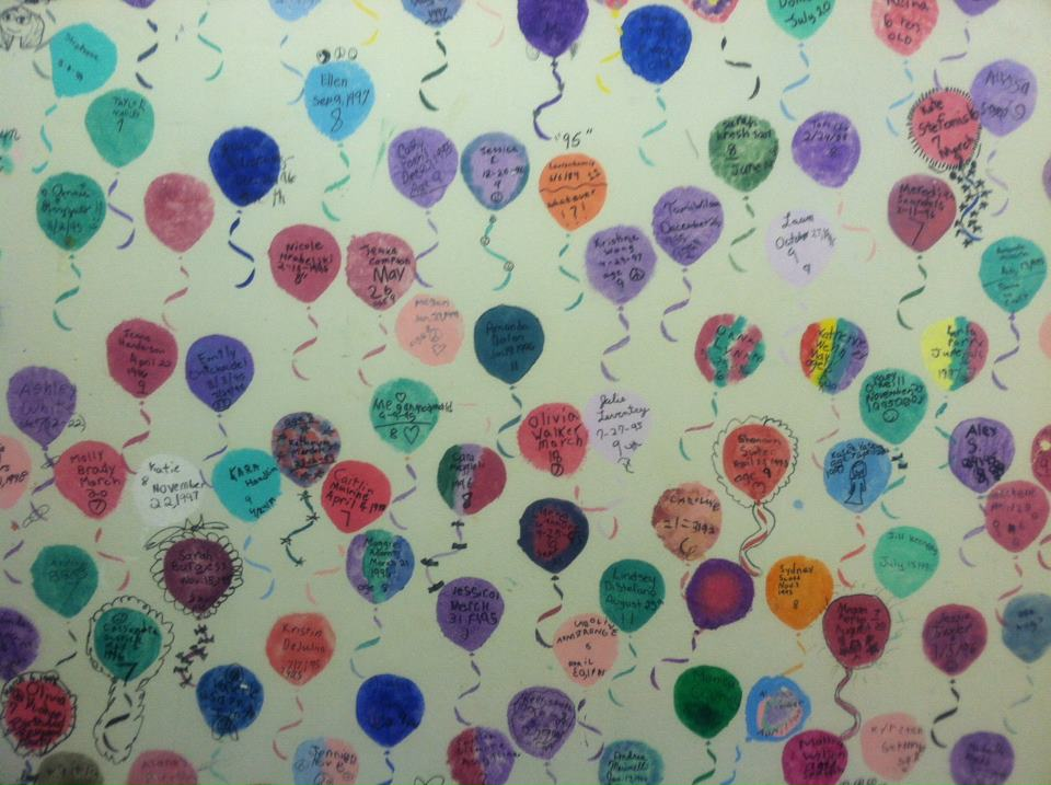 Pike Creek's Birthday Wall of Fame