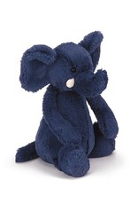 JELLYCAT INC. JELLYCAT BASHFUL BLUE ELEPHANT MEDIUM
