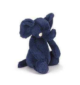 JELLYCAT INC. BASHFUL BLUE ELEPHANT MEDIUM