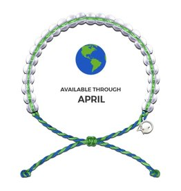 4OCEAN EARTH DAY GREEN BRACELET