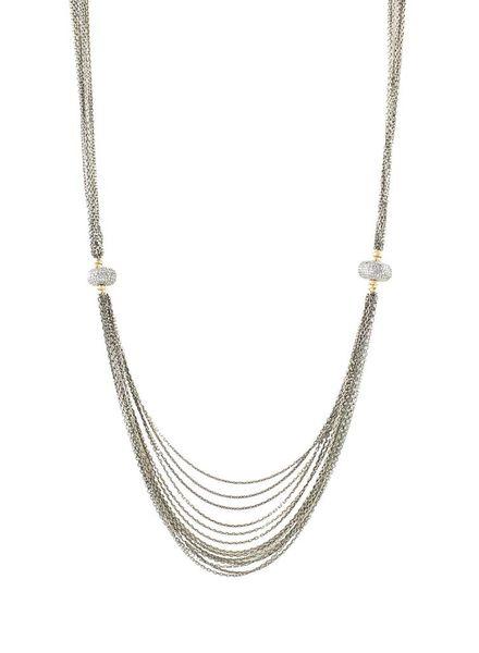 Dana Kellin Fine Diamond Beaded Necklace