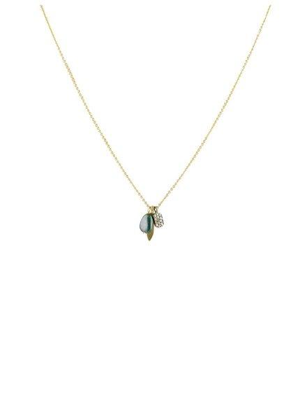 Dana Kellin Fine Gold, Diamond and Opal Necklace