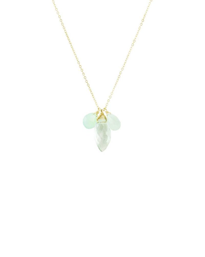 Dana Kellin Fashion Bridal Mix Drop Necklace