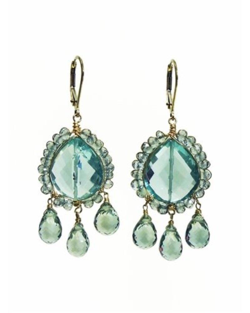 Dana Kellin Fashion Neptune Mix Earrings