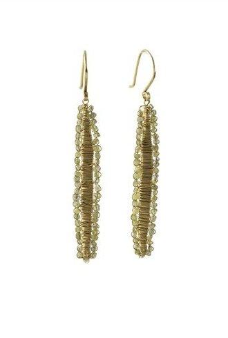Dana Kellin Fine 14k Raw Diamond Earrings