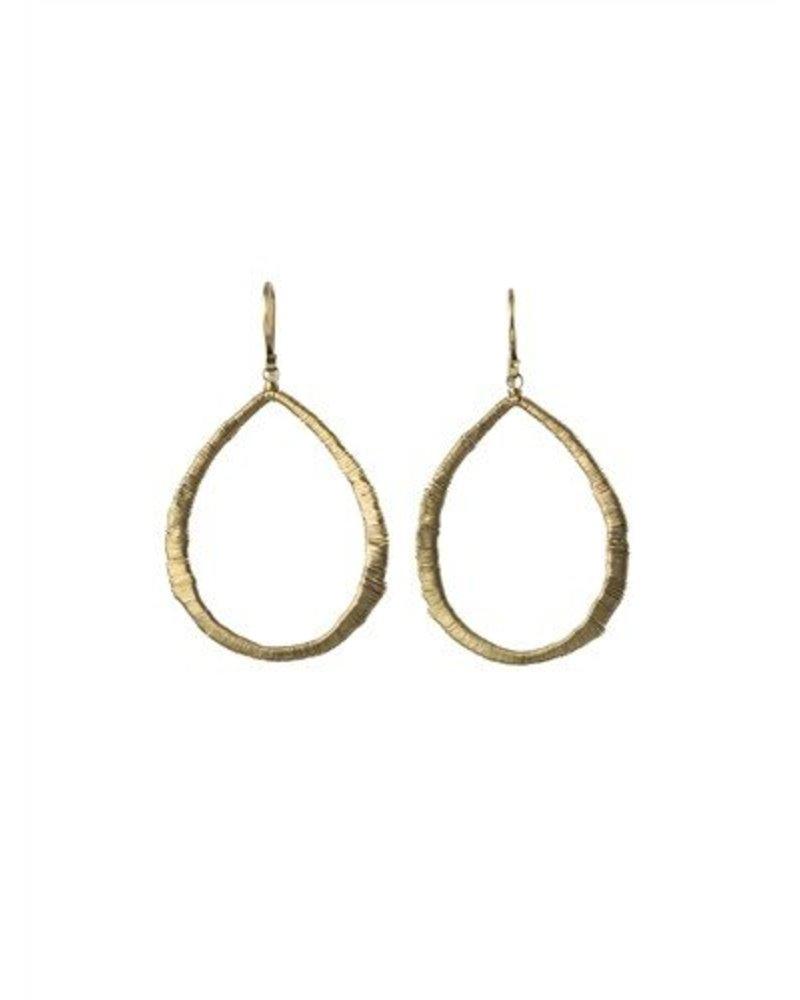 Dana Kellin Fine 14k Open Teardrop Earrings