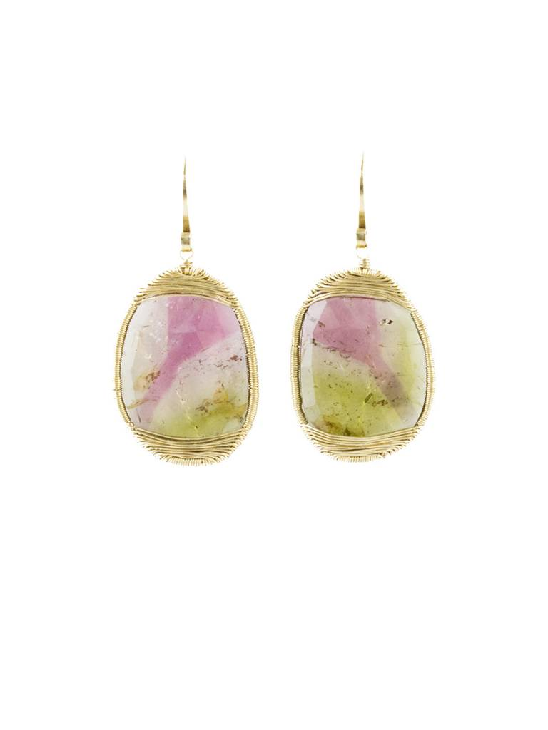 tourmaline bi watermelon earrings products collective t color amorphous dream