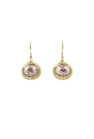 Dana Kellin Fashion Silverite Drop Earrings